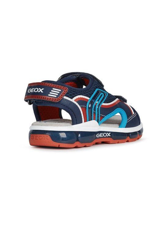 Geox - Android Boy -sandaalit - C0735 NAVY RED | Stockmann - photo 4