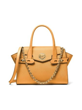 Carmen Satchel leather bag - Michael Michael Kors