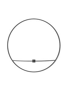 Menu - POV Circle -kynttilänjalka, L - MUSTA | Stockmann
