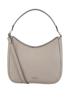 kate spade new york - Roulette Large Hobo Bag -nahkalaukku - WARM TAUPE | Stockmann