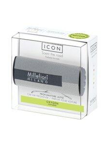 Millefiori - Textile Geometric 46 Icon Oxygen -ilmanraikastin autoon - GREY | Stockmann