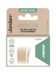 Jordan - Green Clean Toothpicks -hammastikut 100 kpl - null | Stockmann