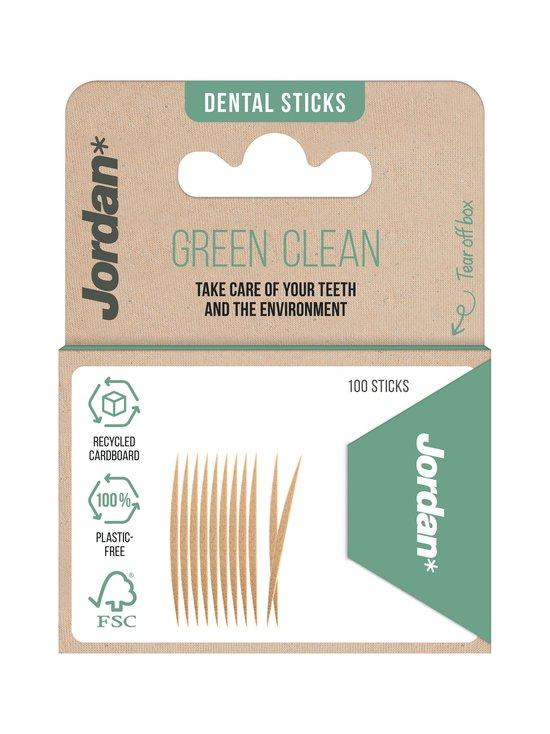 Jordan - Green Clean Toothpicks -hammastikut 100 kpl - NOCOL | Stockmann - photo 1