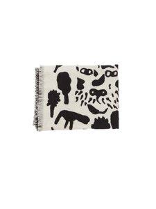 Iittala - Oiva Toikka Collection Cheetah -huopa 180 x 130 cm - WHITE, BLACK | Stockmann