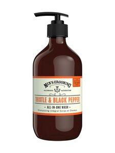 The Scottish Fine Soaps - Thistle & Black Pepper All-In-One Wash -shampoo-suihkusaippua 500 ml | Stockmann