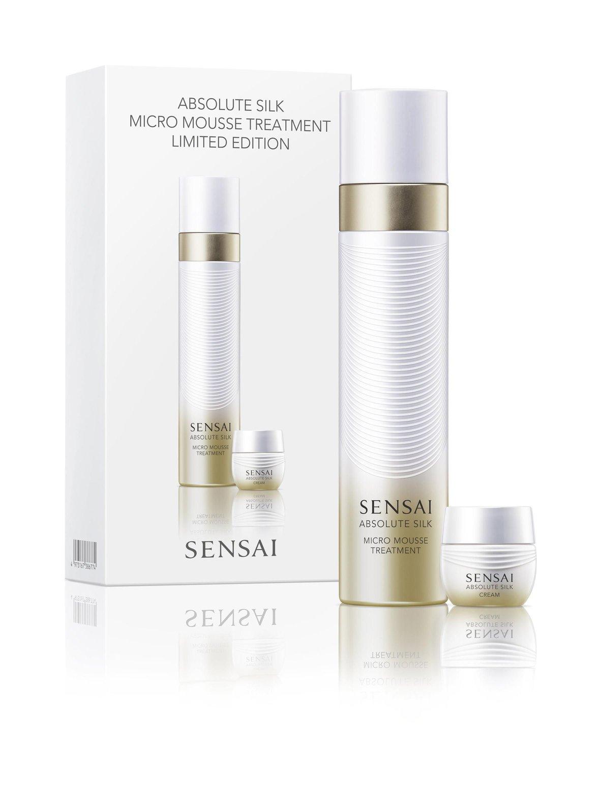 Absolute Silk Micro Mousse Treatment -lahjapakkaus, Sensai