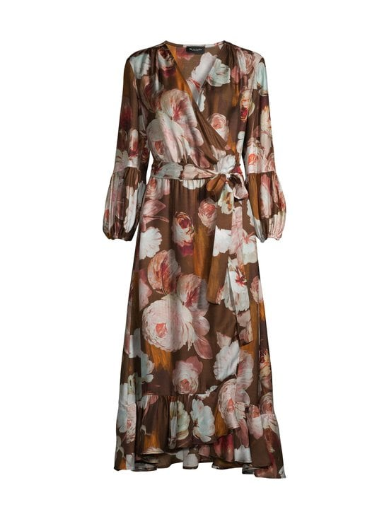 SAND Copenhagen - Long Wrap Dress -mekko - 220 LIGHT CAMEL | Stockmann - photo 1