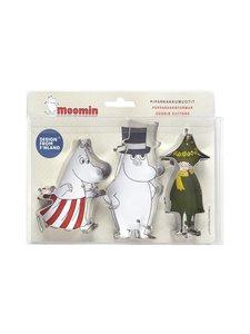 Moomin - Piparkakkumuotti 3 kpl - TERÄS | Stockmann