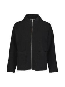 cut & pret - Octavia Boiled Wool -villaneuletakki - BLACK | Stockmann