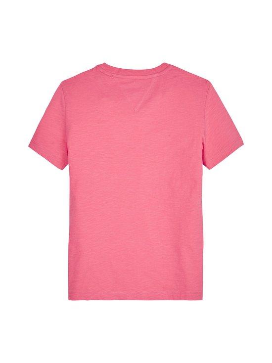 Tommy Hilfiger - Essential Logo Tee -paita - T1L LIGHT CERISE PINK   Stockmann - photo 2