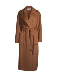 Michael Michael Kors - Double Face Wool Blend Robe Coat -villakangastakki - 249 CARAMEL | Stockmann