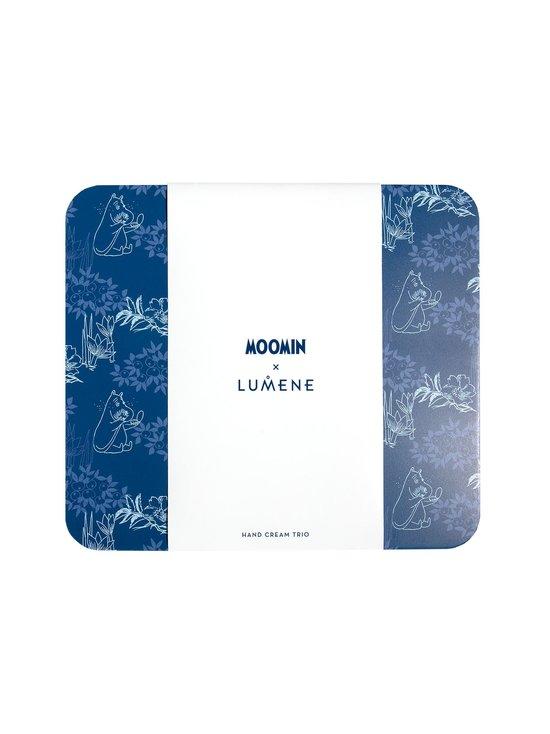 Moomin x Lumene -tuotepakkaus