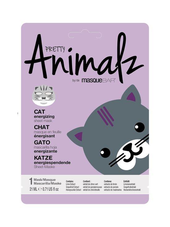 Masque Bar - Animalz Cat Sheet Mask -kasvonaamio - NOCOL | Stockmann - photo 1