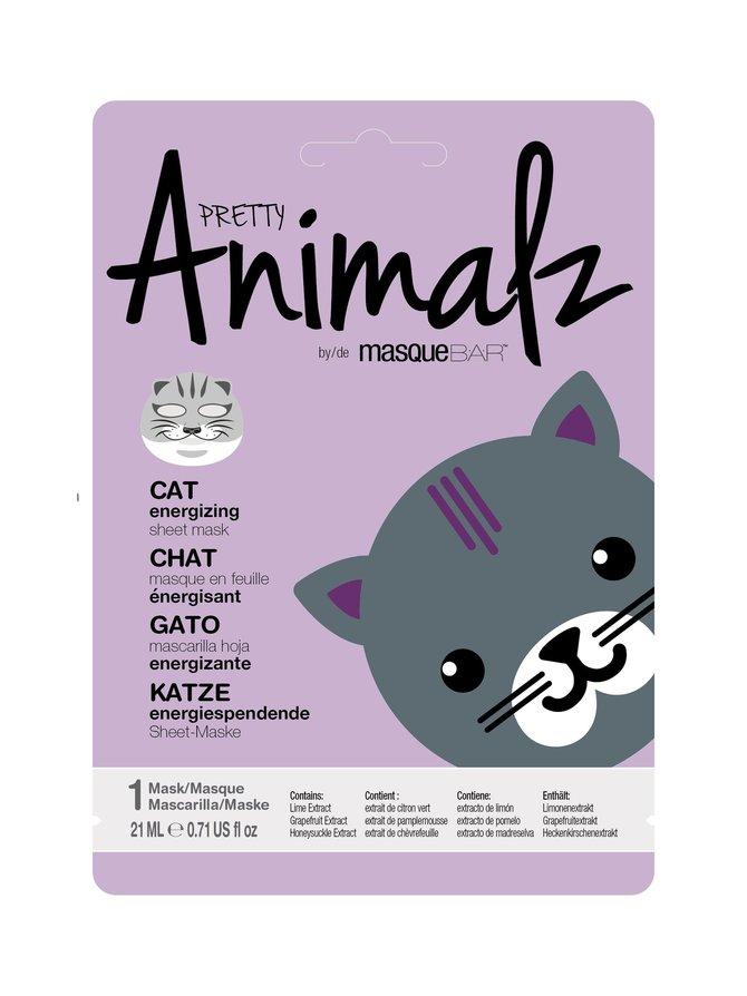 Animalz Cat Sheet Mask -kasvonaamio