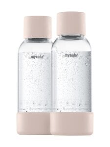 MySoda - Juomapullo 0,5 l, 2 kpl - NUDE | Stockmann