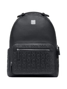MCM - Stark Backpack in MCM Monogram Leather -nahkareppu - BK BLACK | Stockmann