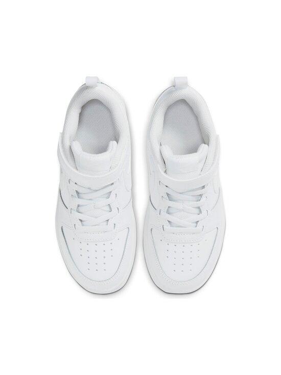 Nike - Court Borough Low 2 -sneakerit - 100 WHITE/WHITE-WHITE | Stockmann - photo 2