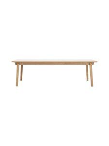 Normann Copenhagen - Slice-pöytä 74 x 250 x 90 cm - OAK | Stockmann
