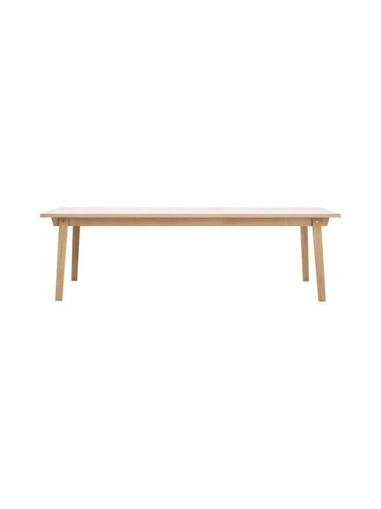 Normann Copenhagen - Slice-pöytä 74 x 250 x 90 cm - OAK   Stockmann - photo 1