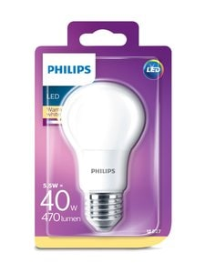 Philips - LED 5,5W A60 E27 -lamppu - WHITE | Stockmann