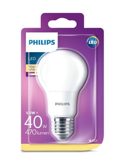 LED 5,5W A60 E27 -lamppu