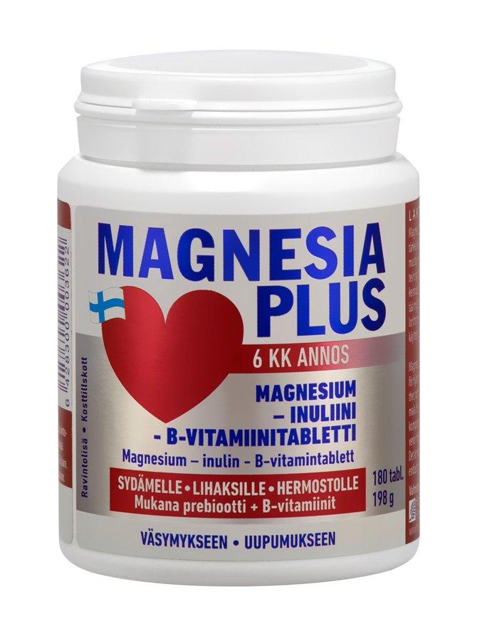 Magnesia Plus 180 tabl 180 g