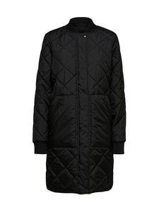 Selected - SlfNatalia Quilted Coat -takki - C-N10 BLACK | Stockmann
