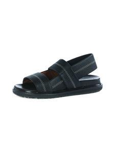 MARNI - Fussbett Shoe -nahkasandaalit - 00N99 BLACK   Stockmann