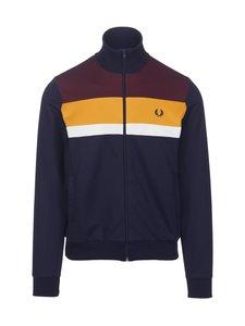 Fred Perry - Colour Block Track Jacket -verryttelytakki - 266 CARBON BLUE | Stockmann