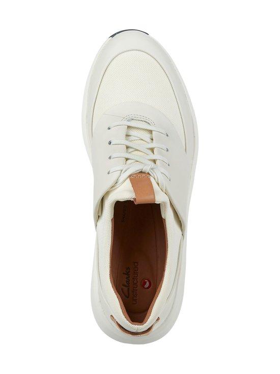 Clarks - Un Rio Lace -nahkasneakerit - WHITE   Stockmann - photo 2
