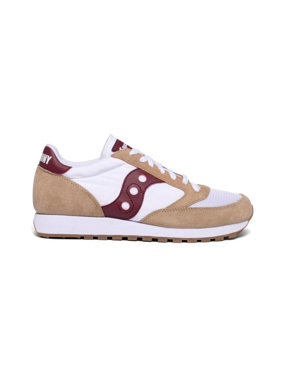 Saucony - Jazz Original Vintage -sneakerit - TAN/WHT/WINE | Stockmann - photo 1