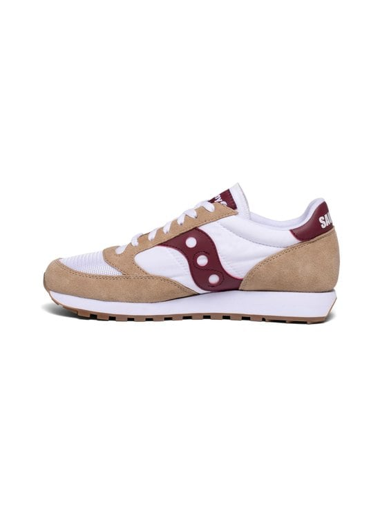 Saucony - Jazz Original Vintage -sneakerit - TAN/WHT/WINE | Stockmann - photo 2