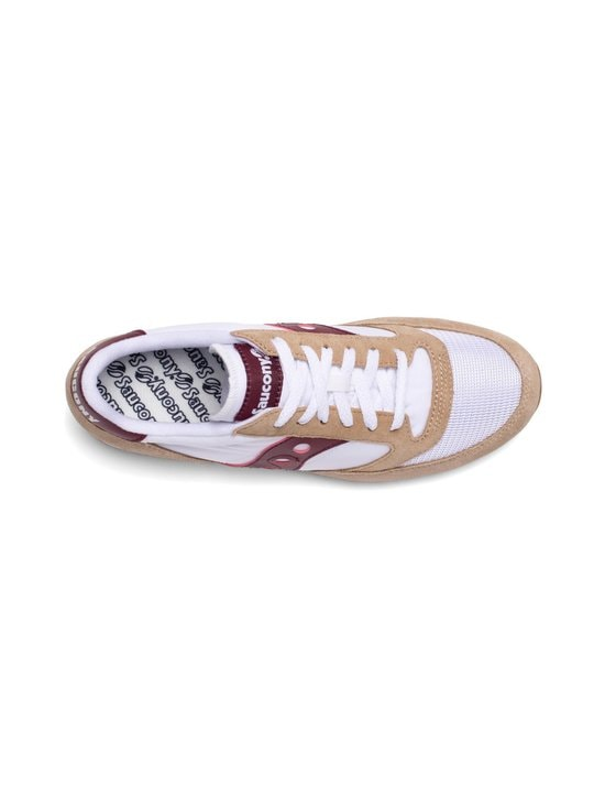 Saucony - Jazz Original Vintage -sneakerit - TAN/WHT/WINE | Stockmann - photo 3