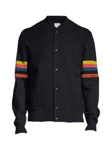 Paul Smith - Knitted Bomber Jacket -neuletakki - 49 NAVY | Stockmann