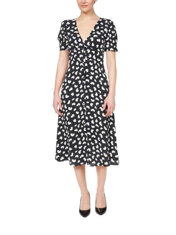 Petal Midi Dress -mekko
