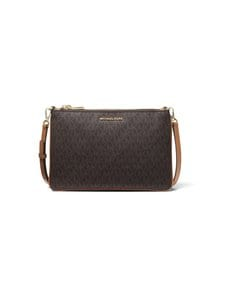 Michael Michael Kors - Adele Logo Crossbody Bag -laukku - BROWN | Stockmann