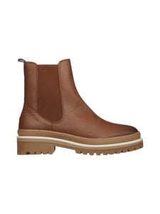 Tommy Hilfiger - Rugged Classic Chelsea Boot -nahkanilkkurit - GTU NATUREL COGNAC | Stockmann