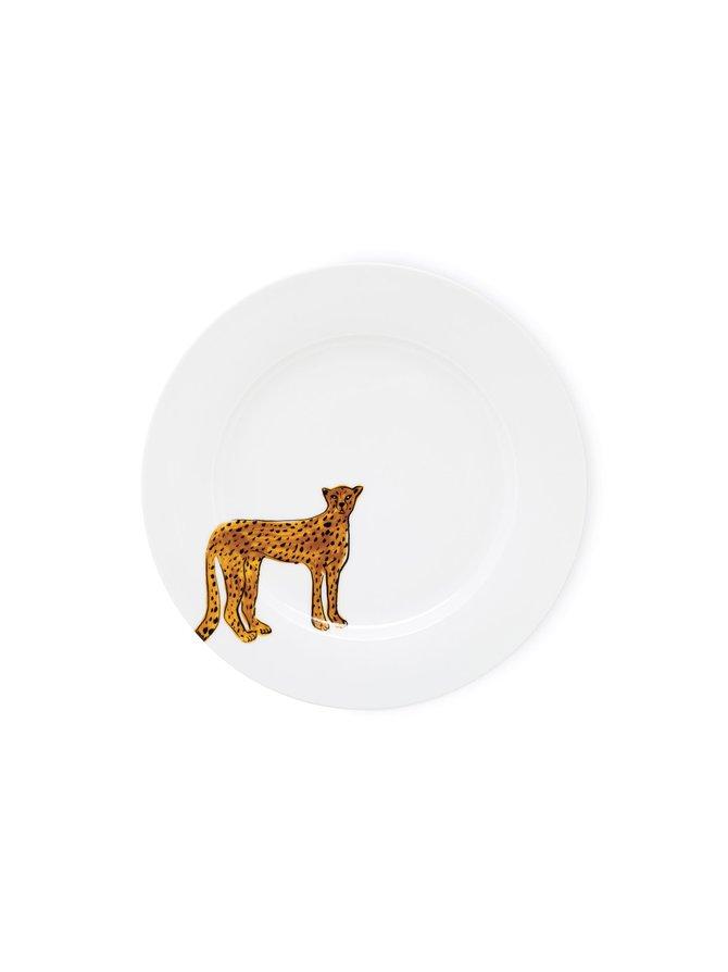 Dinner Plate Cheetah -lautanen 27 cm