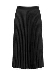 Calvin Klein Womenswear - Pleat Midi Skirt -hame - BEH CK BLACK | Stockmann