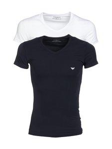 Emporio Armani - T-paita 2-pack - VALKOINEN/MUSTA | Stockmann