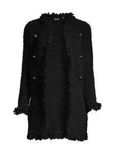 Marella - Formia Knit Jacket Chanel Look -villasekoitetakki - 003 BLACK | Stockmann