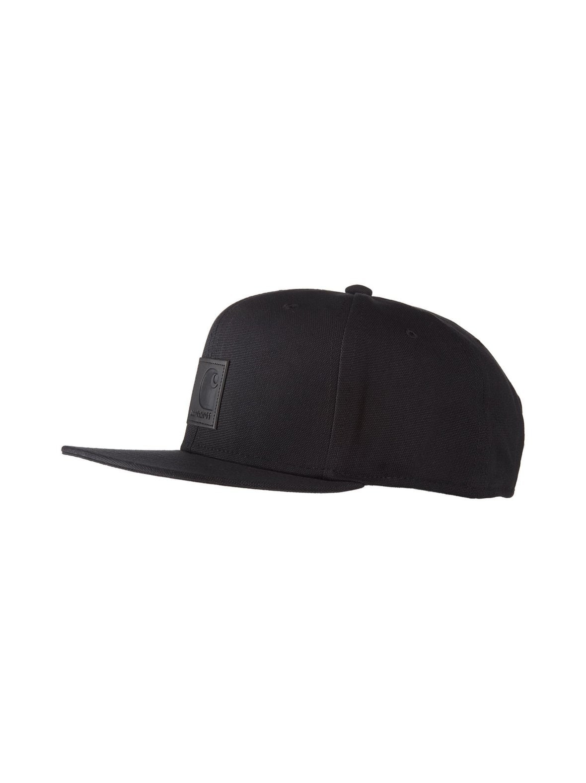 Black (musta) Carhartt I023099 01 Logo Cap -lippalakki  ac8ad9edee