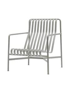 HAY - Palissade Lounge Chair High -lepotuoli 73 x 92 cm - SKY GREY (HARMAA) | Stockmann