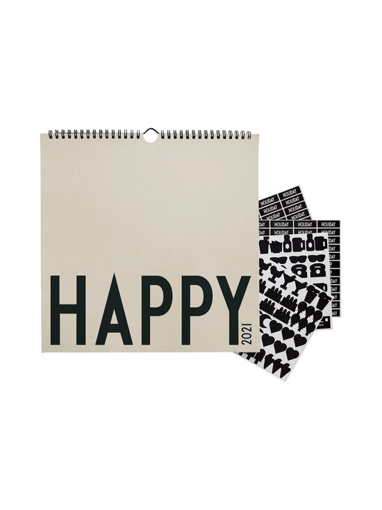 Design Letters - Seinäkalenteri 2021 - COOL GREY   Stockmann - photo 2