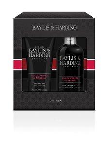 Baylis & Harding - Signature Men's Black Pepper & Ginseng -lahjapakkaus - null | Stockmann