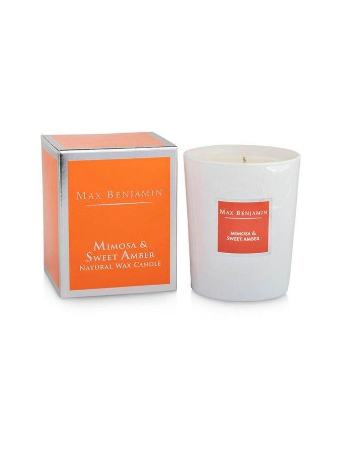 Mimosa Sweet Amber -tuoksukynttilä 190 g