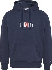 Tommy Jeans - Timeless Tommy -huppari - C87 TWILIGHT NAVY | Stockmann