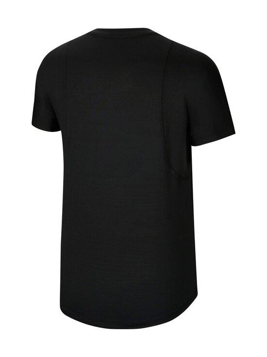 Nike - Air Top SS -treenipaita - 010 BLACK/REFLECTIVE SILV | Stockmann - photo 2