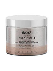 Ikoo - Join The Scrub – Volumizing Sugar Scalo Scrub -sokerikuorinta hiuspohjalle 250 ml | Stockmann
