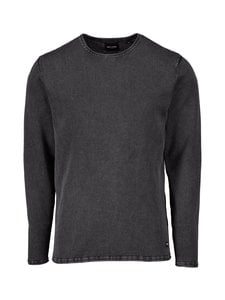 Only & Sons - OnsGarson Wash -puuvillaneule - BLACK | Stockmann